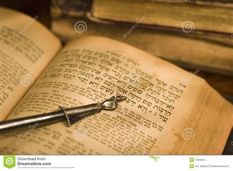 the bible to business credit how to get 50 000 in less than 6 months to build your business books hebrew bible and pointer stock image image 1646341