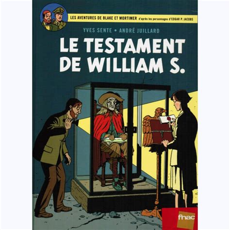 blake mortimer 24 blake et mortimer tome 24 le testament de william s sur www bd tek com