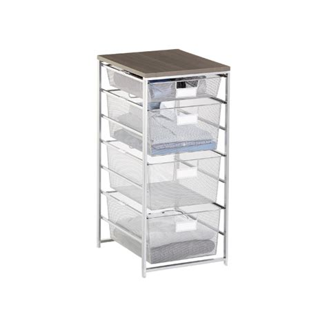 Container Store Elfa Drawers by Platinum Cabinet Sized Elfa Mesh Closet Drawers The