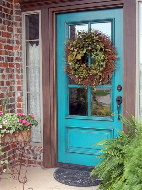 popular colors to paint an entry door installing decorating windows doors diy