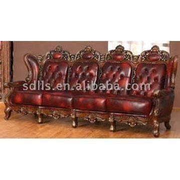 leather sofa with wooden trim classical leather sofa with wooden trim
