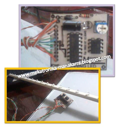 membuat lu running led mekatronika manakarra membuat lampu variasi running led