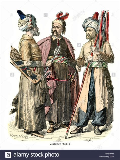 ottoman empire 18th century military uniforms of ottoman turkey 17th and 18th century
