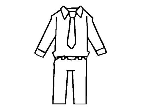 Dal Cin Abbigliamento by Disegno Di Abbigliamento Di Uomo Da Colorare Acolore