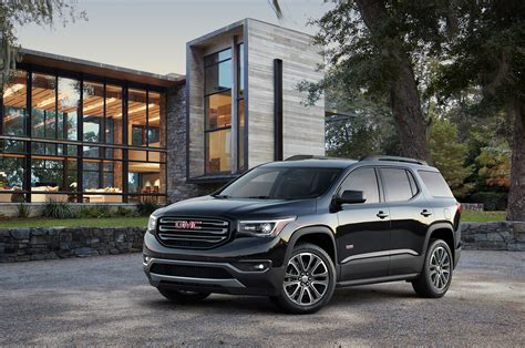 gmc acadia vs terrain 2017 gmc acadia reviews and rating motor trend