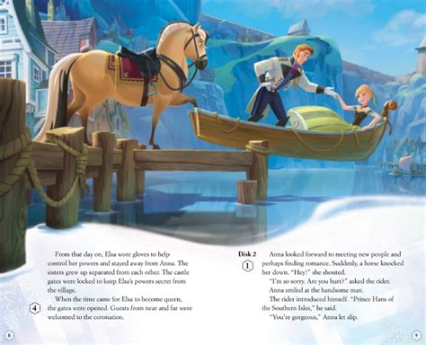 frozen film hans new disney frozen storybook images reveal juicy plot details