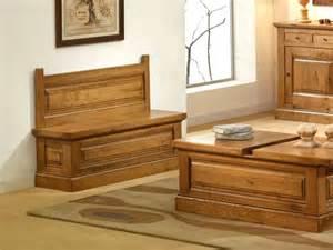banc coffre honfleur en ch 234 ne style cagne meubles