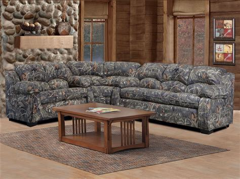 camo living room furniture duck commander sectional 3 piece sofa loveseat and wedge