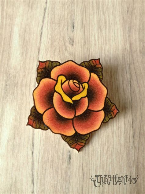 traditional rose tattoo flash collection of 25 traditional