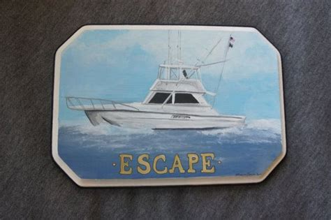 wooden boat name plaques 69 best nautical art images on pinterest nautical art