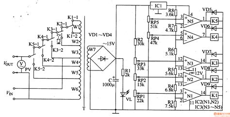 Ac Automatic Voltage Regulator component automotive voltage regulator schematic