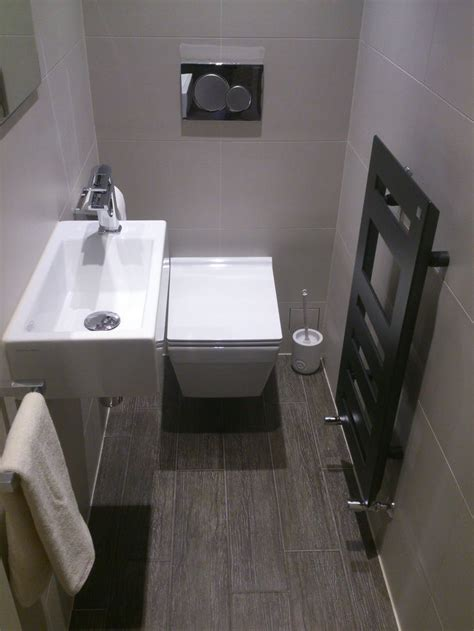 cloakroom with designer tile modern zehnder radiator