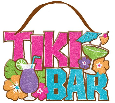 Kitchen Design And Colors by Tiki Bar Glitter Sign Parties 2 Order