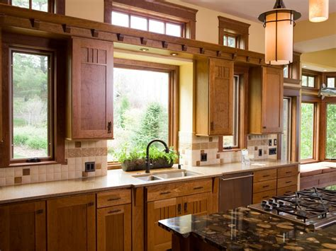 Kitchen Cabinets With Windows | creative kitchen window treatments hgtv pictures ideas