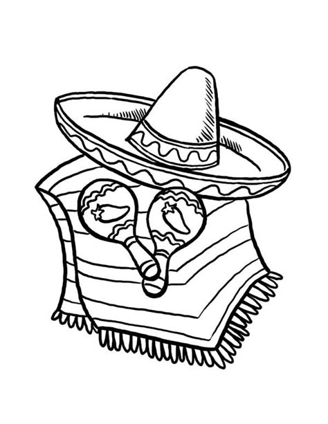 fiesta coloring pages free printable fiesta coloring page preschool cinco de mayo