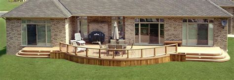 Under Stairs Bench Framing An Arch Or Curve On Your Deck Diy Deck Plans