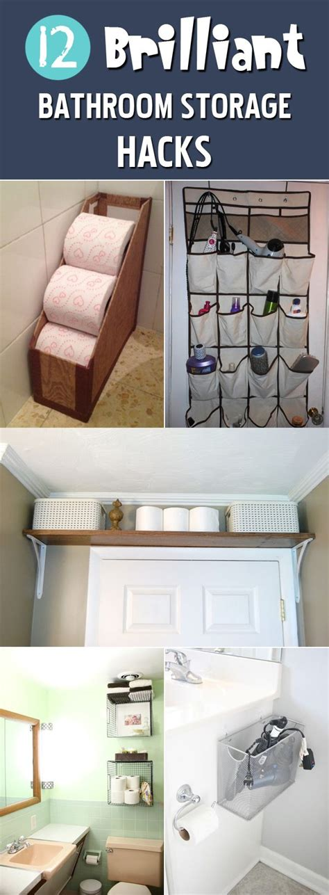 Clever Bathroom Storage Ideas 17 Best Ideas About Clever Bathroom Storage On Pinterest Clever Storage Ideas Bathroom