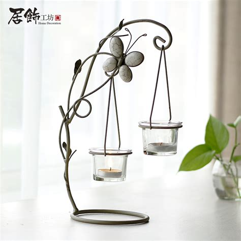 iron decorations for the home home decoration brief glass vase fashion rustic iron