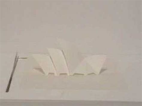 Origami Paper Sydney - origamic architecture quot sydney opera house quot