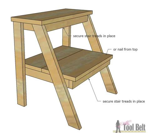 Easy Reach Project Stool by Kid S Step Stool Tool Belt