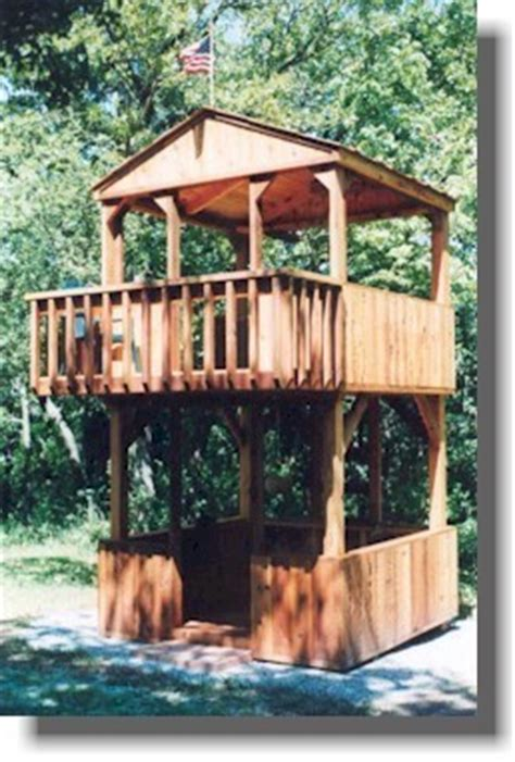 Build A Backyard Fort by The Ultimate Collection Of Free Diy Outdoor Playset Plans