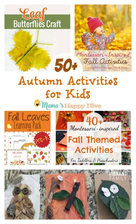 autumn activities for kids mama s happy hive