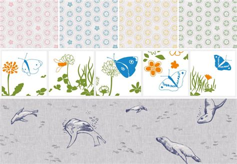 patterns in nature children s book forest sea hand drawn nature on fabric accessories