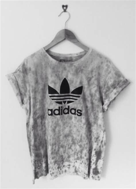 Shirt Blouse Graphis by Shirt Adidas Grey Tie Dye Shirt T Shirt Blouse