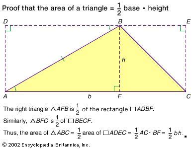 Credit Triangle Formula Euclidean Geometry Britannica
