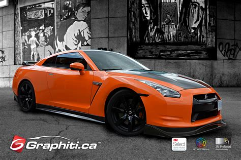 nissan orange 0 60 burnt orange nissan gtr graphiti