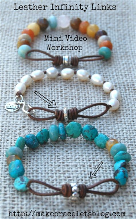 learn jewelry bead learn to make leather links for jewelry