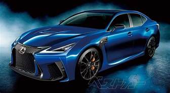 lexus gs f next rendering