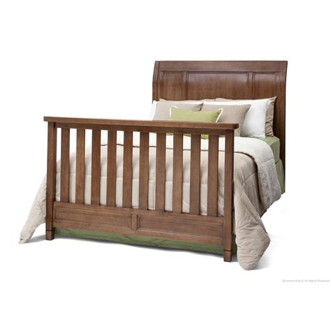 simmons regal crib in weather chestnut