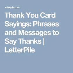 top 25 best thank you card sayings ideas on thank you note wording graduation