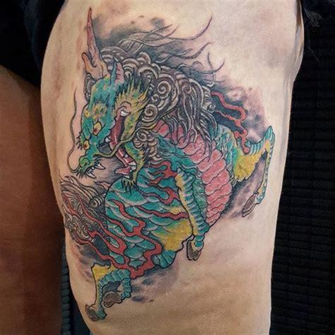 15 powerful kirin tattoos tattoodo