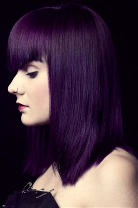 permanent purple hair dye that is nothing of spectacular