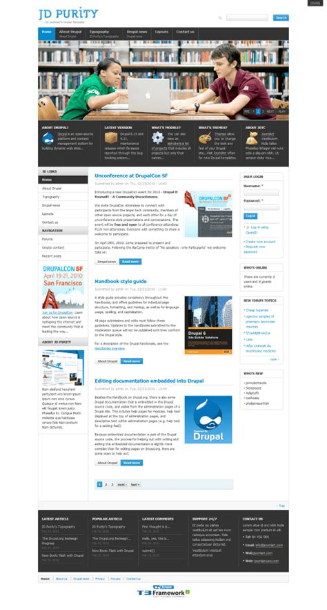 joomlart theme easy beautiful drupal themes our top 10