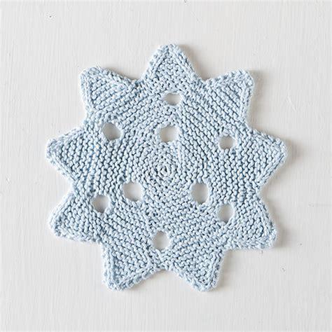 snowflake knitting pattern free knitting patterns galore snowflake dishcloth