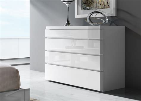 Tall Bedside Cabinets Aris Contemporary Chest Of Drawers Contemporary