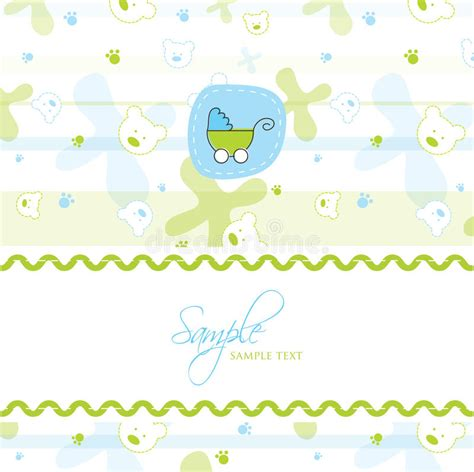 congratulations baby shower card template baby shower card template stock vector image of