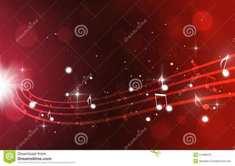 free light background music music notes on red background royalty free stock photos