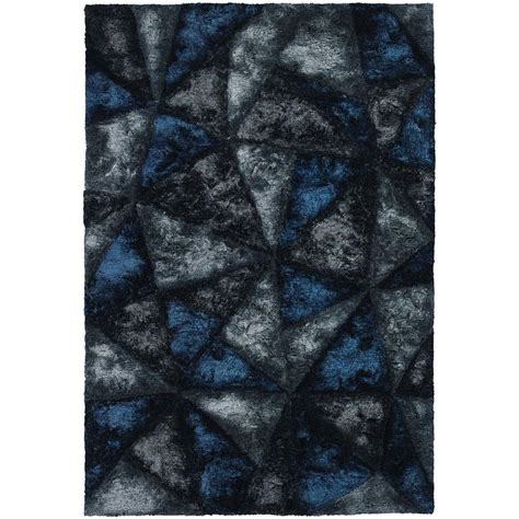 chandra sterling charcoal 5 ft x 7 ft chandra flemish blue grey charcoal 5 ft x 7 ft 6 in indoor area rug fle51111 576 the home depot
