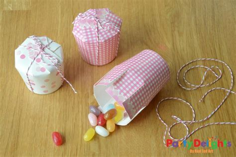 Crafts With Paper Cups - paper cup crafts simple treat box diy ted s