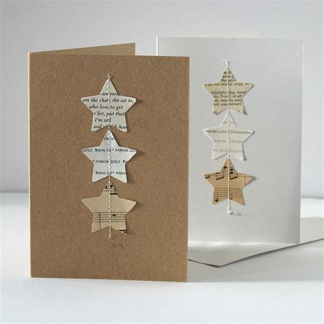 Handmade Personalised Cards - handmade personalised card by made in words