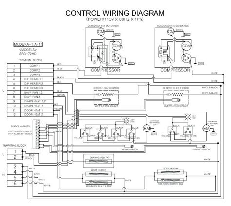 kenmore freezer wiring diagram wiring diagram with