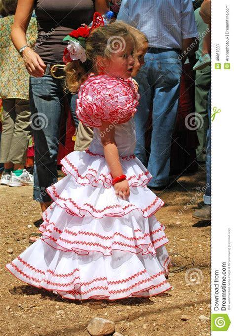 Robe Espagnole Flamenco Fille - robe fille espagnole