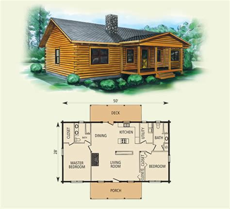 log home building plans taylor
