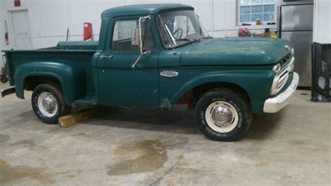 1966 ford f100 stepside 1966 ford f100 wheel base stepside truck original