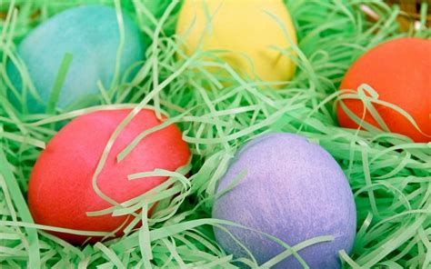 beautiful easter eggs easter holiday wallpaper 815789