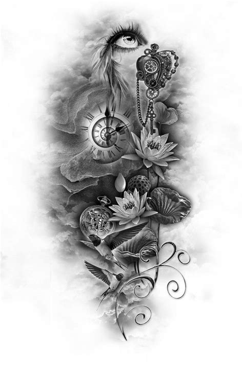 custom tattoo designs best 10 sleeve designs ideas on